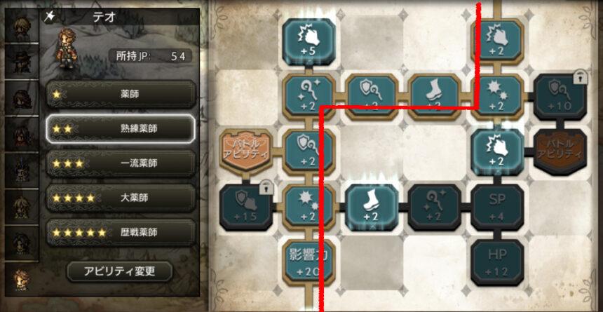 アビリティボードの効率的な進め方3